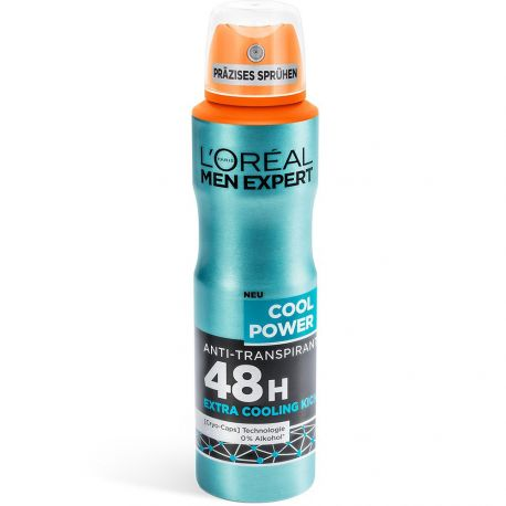 L'Oréal Men Expert - Déodorant Spray Cool Power 48h - 150ml