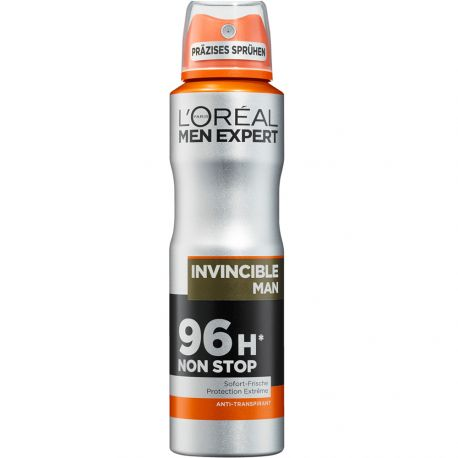 L'Oréal Men Expert - Déodorant Spray Invincible Man 96h - 150ml