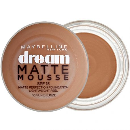Maybelline - Dream Matte mousse Fond de Teint SPF 15 - n°50 Sun Bronze - 18ml