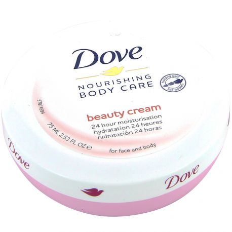 Dove - Body Care Beauty Cream Hydratation 24H visage et corps - 75ml