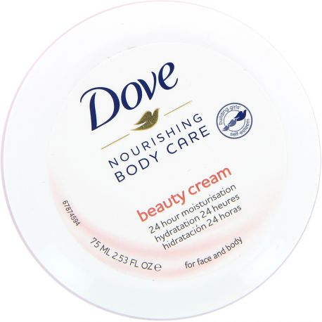 Dove - Body Care Nourishing Hydratation 24H visage et corps - 75ml