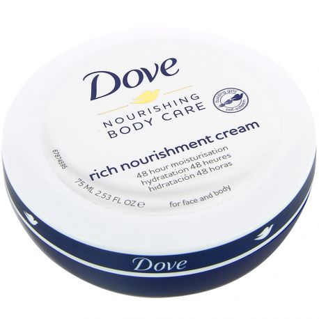 Dove - Body Care Nourishing Hydratation 48H visage & corps - 75ml