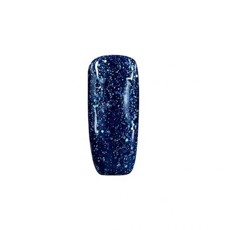 Folie Cosmetic - Vernis Semi-permanent- Paillettes Bleu nuit - 15 ml