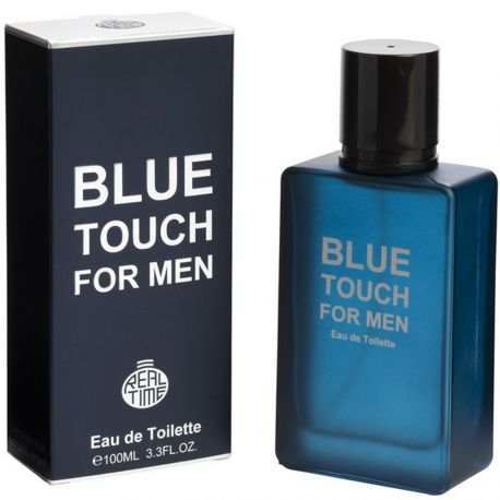 Real Time - Blue Touch - Eau de toilette homme - 100ml