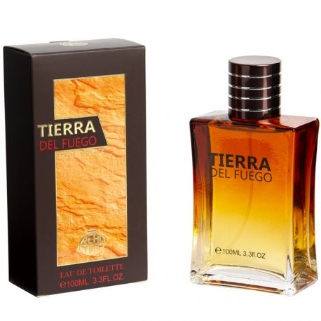 Real Time - Tierra Del Fuego - Eau de toilette homme - 100ml