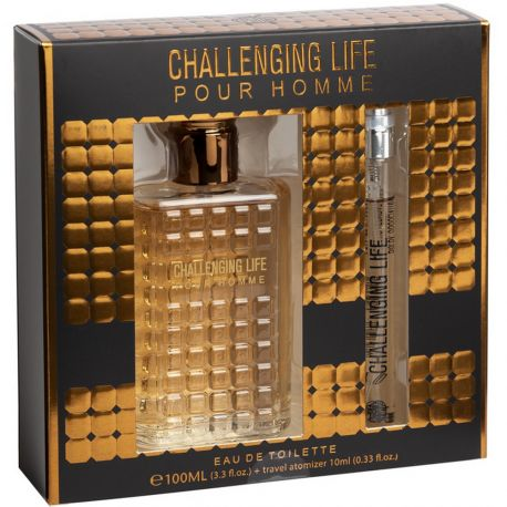 Real Time - Coffret Challenging Life - Eau de toilette homme + Miniature