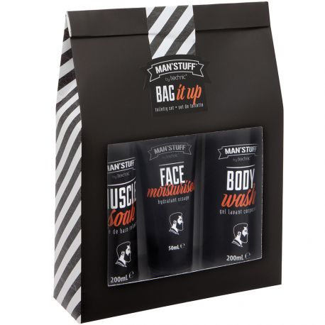 Man'Stuff - Coffret Homme Bag it Up - 3pcs