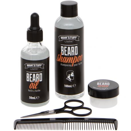 Man'Stuff - Coffret Homme Barbe Tidy whiskers - 5pcs
