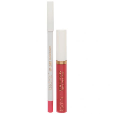 technic - Kit lèvres Glossy - Rose