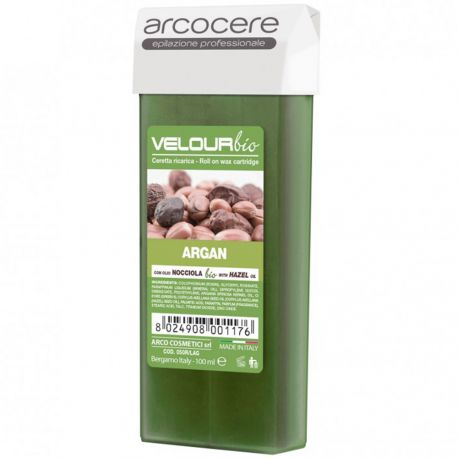 arcocere - Velour bio Cire Roll on Argan - 100ml