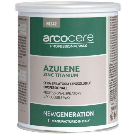 arcocere - Cire épilatoire professionnelle liposoluble Azulene Luxury - 800ml