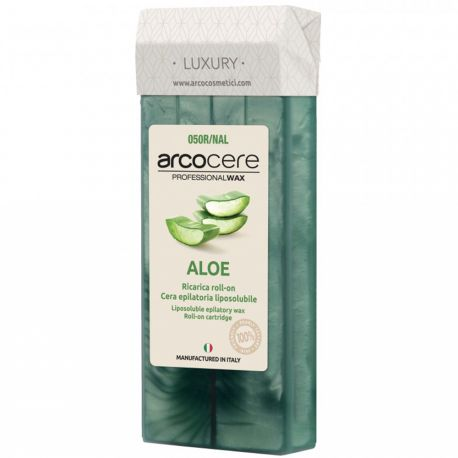 arcocere - Super Nacré Cire Roll on cire Aloe Vera - 100ml