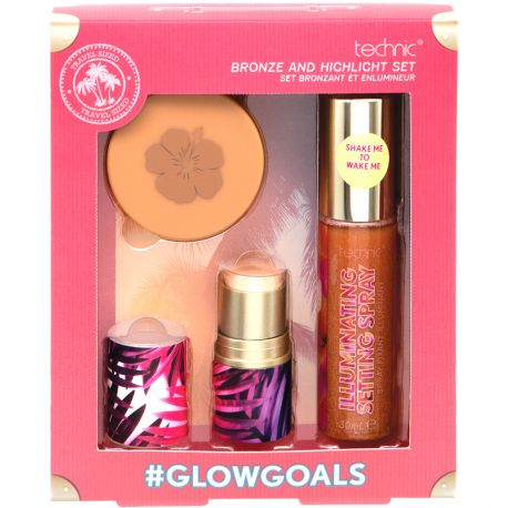 technic - Coffret GlowGoals set pour le teint - 3pcs