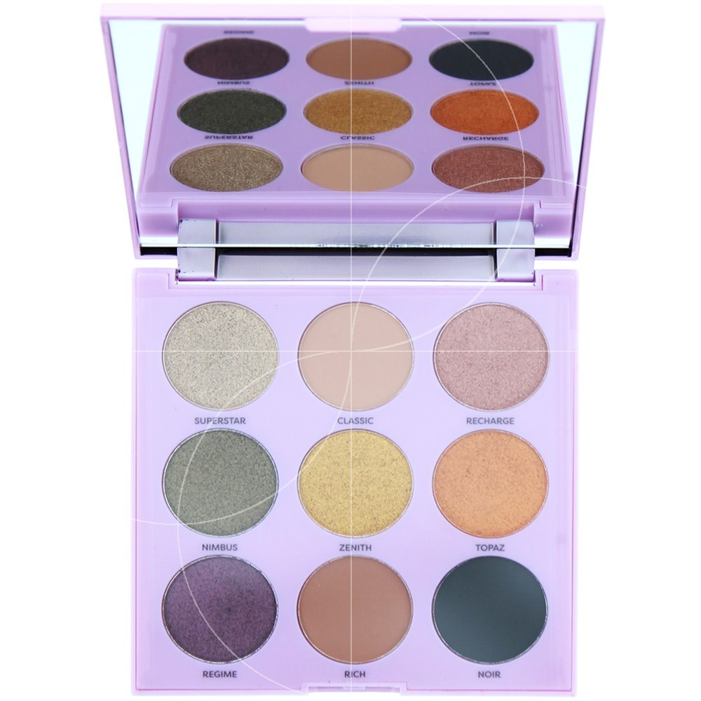 Profusion - Glam Mixed Metals Palette yeux 9 couleurs - 23gr