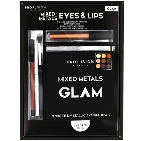 Profusion - Coffret Mixed Metals Eyes & Lips GLAM - 4pcs