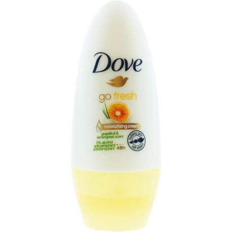 Dove - Go fresh Déodorant roll-on 48h Pamplemousse & verveine - 50ml