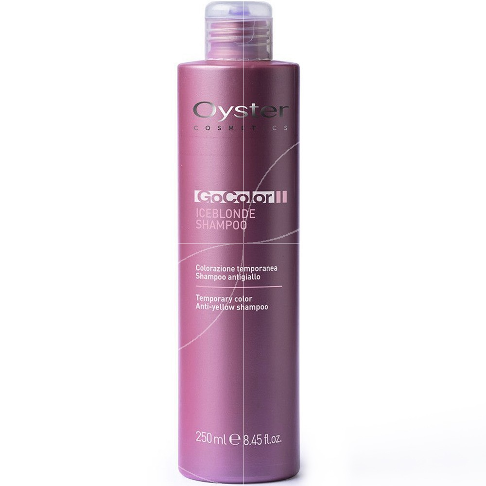 Oyster - Go Color Shampooing Anti-jaunissement ICEBLOND - 250ml