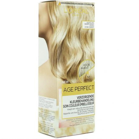 L'Oréal - Coloration Age Perfect Soin Couleur Embellisseur - Touche d'or chaud