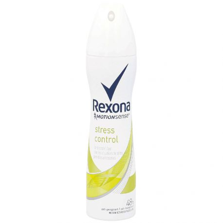 Rexona - Déodorant Spray anti-transpirant 48h stress control - 200ml