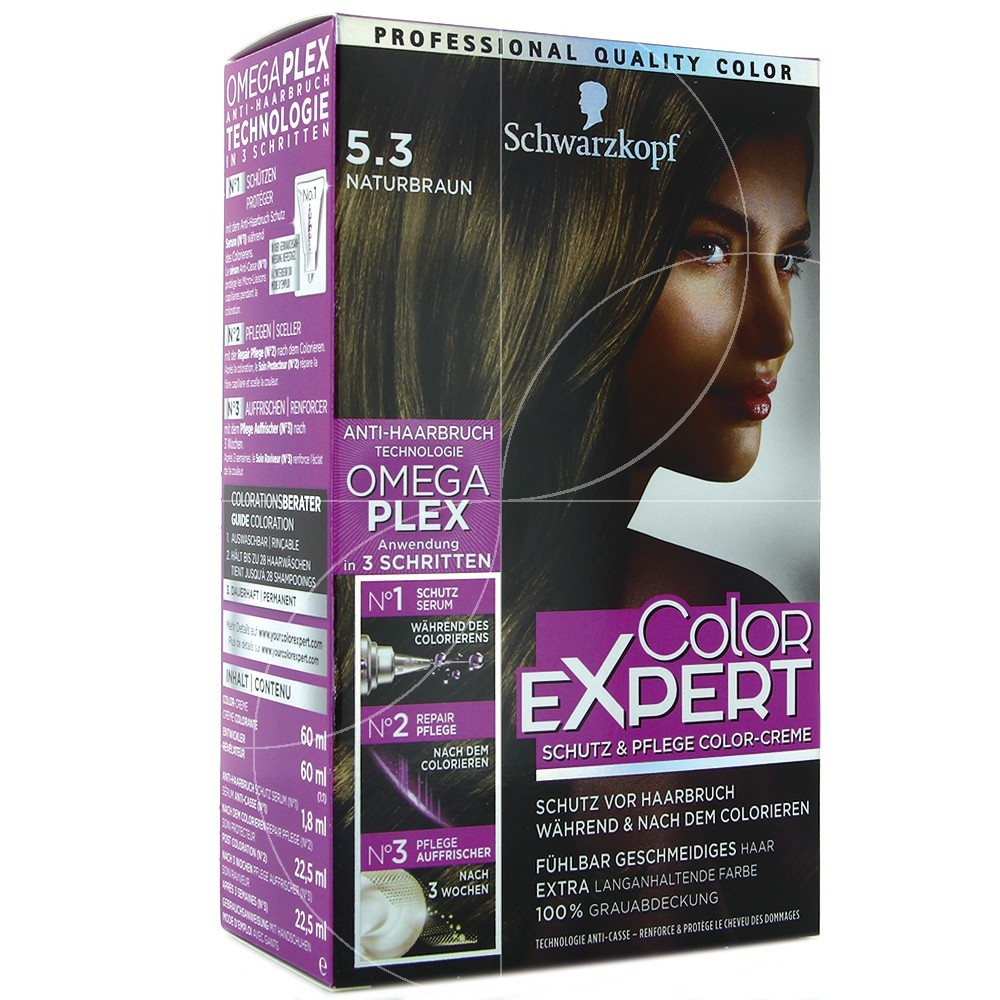 Schwarzkopf - Coloration Color Expert 5.3 Brun Beige