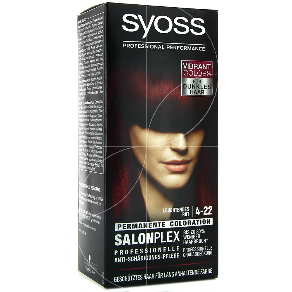 Syoss - Coloration Classic 4-22 rouge violet