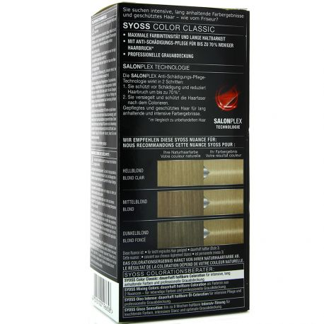 Syoss - Coloration Classic 9-5 Blond Perle Glacé