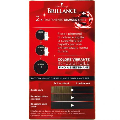 Schwarzkopf - Coloration Brillance 896 Rouge noir