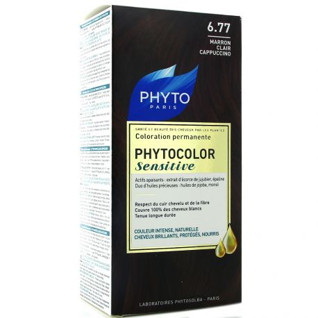 PHYTO Paris - Coloration permanente n°6.77 Marron Clair Cappuccino