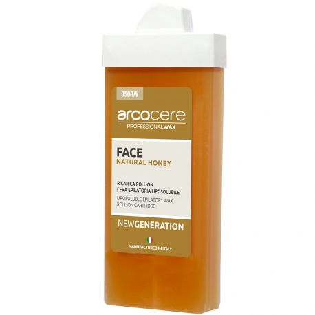 arcocere - Cire Roll-on liposoluble Visage Miel - 100ml