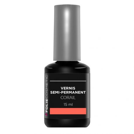 Folie Cosmetic - vernis Semi-permanent- Corail - 15ml