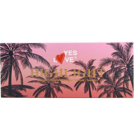 Yes Love - Palette illuminatrice 3 teintes sombres n°02 - 18g