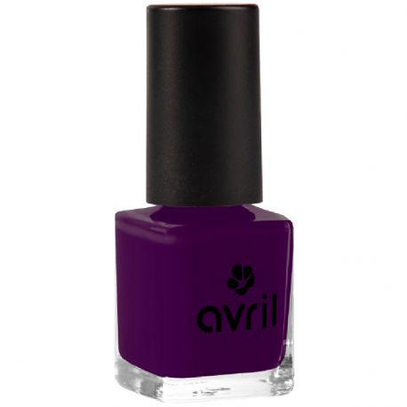 Avril - Vernis à ongles aubergine n°865 - 7ml