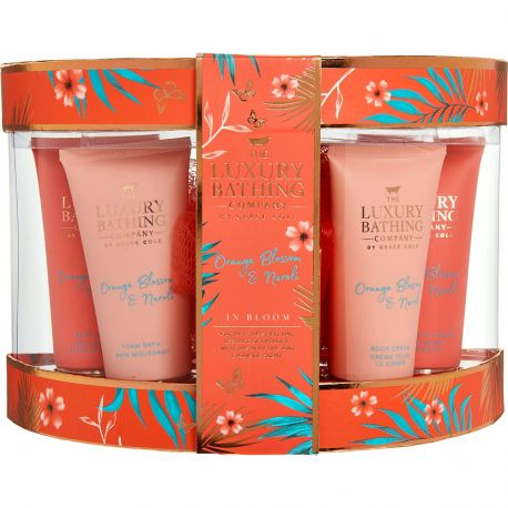 Grace Cole - Luxury Bathing - Coffret Soins Orange Blossom & Néroli - 6pcs