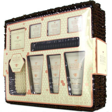 Grace cole - Luxury Bathing - Coffret Spa maison - 9pcs