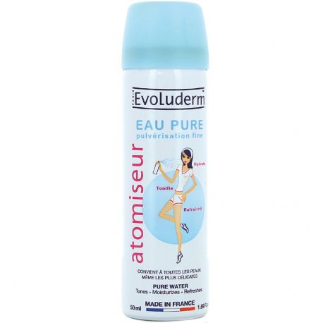 Evoluderm - Atomiseur Eau Pure - 50ml