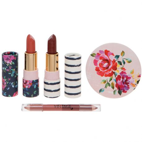 Body Collection - Vintage - Coffret Rouge à lèvres - 4pcs