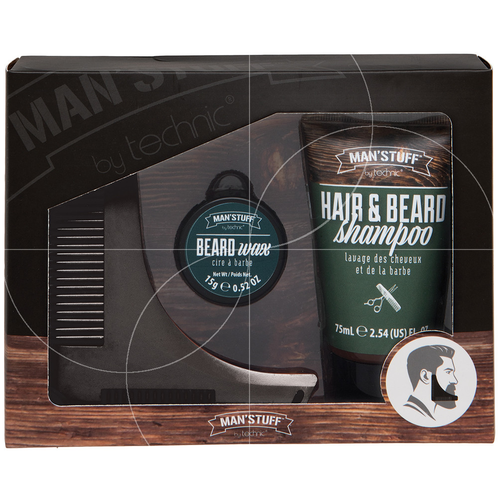 Man'Stuff - Coffret Barbe Shape'n' Spruce - 3pcs