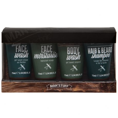 Man'Stuff - Coffret The Traveller Homme - 4pcs