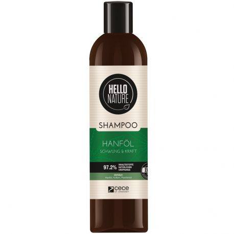 Hello Nature - Shampooing Chanvre Energie et Force - 300ml