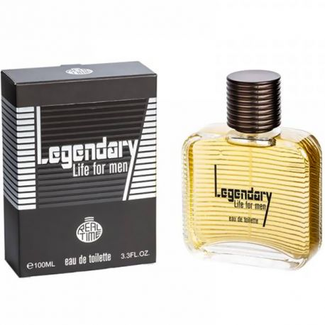 Real Time - Legendary Life for men - Eau de toilette homme - 100ml