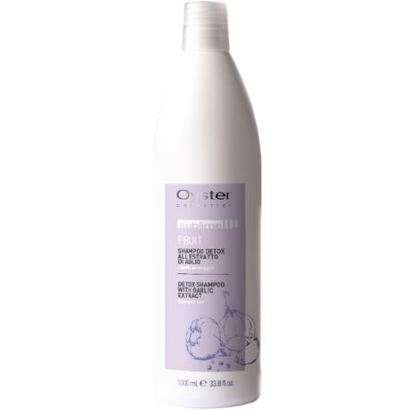 Oyster Sublime fruit - Shampooing Detox à l'extrait d'ail - 1000ml