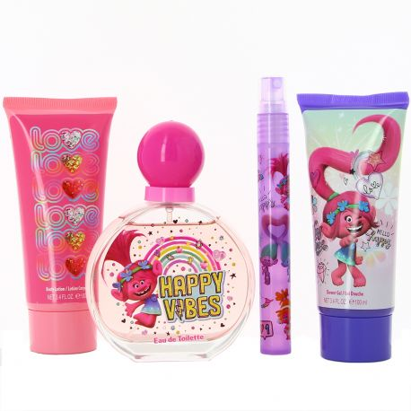 Dream Works - Coffret Trolls Gel Douche Lotion corporelle et Eau de toilette