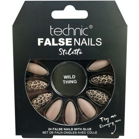technic - Faux ongles Stiletto - Wild Thing