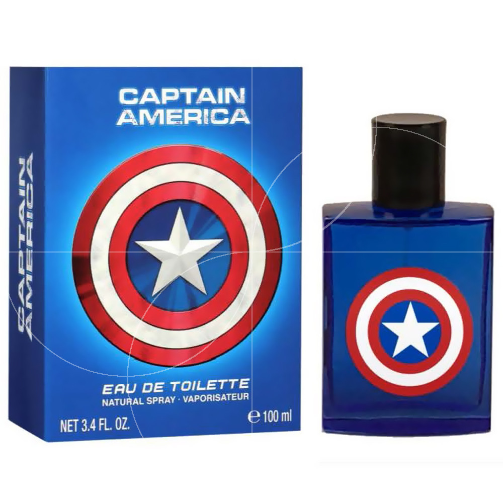 Marvel - Eau de toilette Captain America - 100ml
