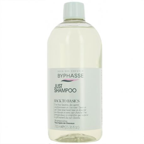 Byphasse - Back to Basics shampooing tous types de cheveux - 750ml