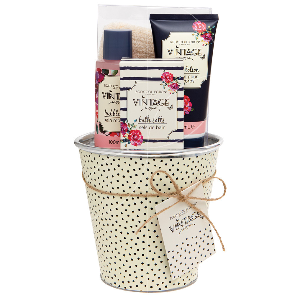 Body Collection - Vintage - Coffret soin corps et bain