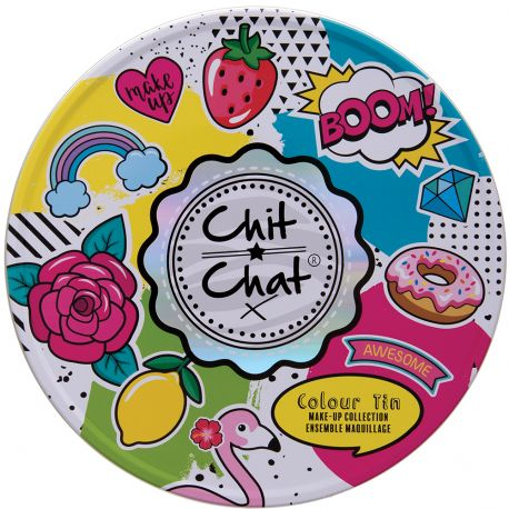 technic - Coffret Chit Chat Colour Tin maquillage