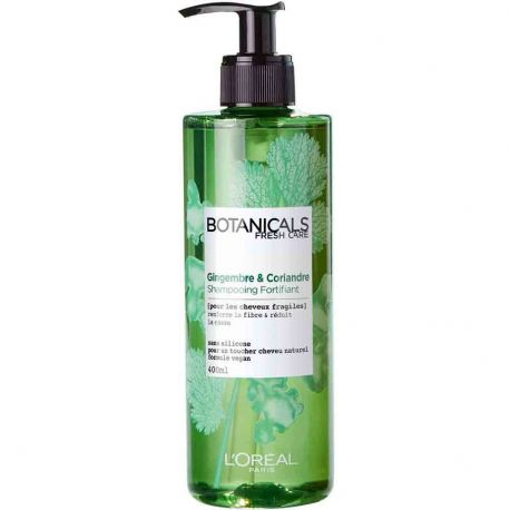 L'Oréal - Botanicals - Shampooing Fortifiant Gingembre & Coriandre - 400ml