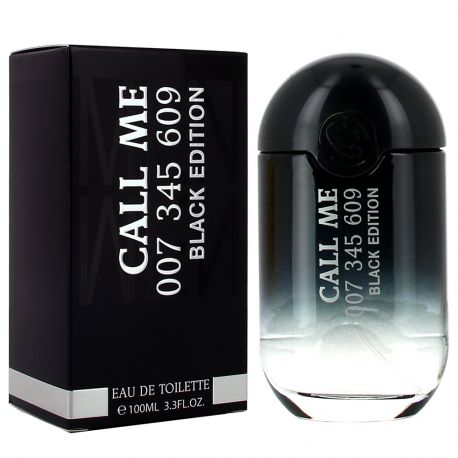 Real Time - Call Me Black Edition - Eau de Toilette Homme - 100ml