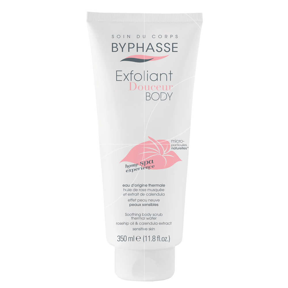 Byphasse - Home Spa Experience - Exfoliant Corps Douceur - Peaux sensibles - 350ml